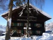 Haus mit Tradition-Winter